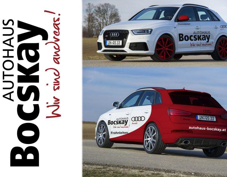 Corporate Design für Autohaus Bocskay