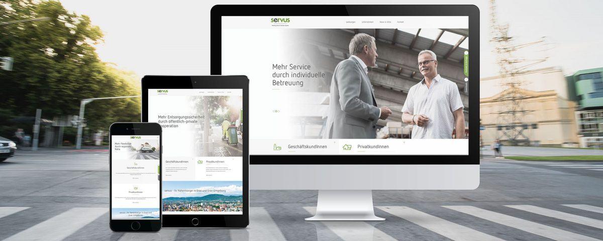 2017-Servus-st, Screendesign vom neuen Website-Auftritt