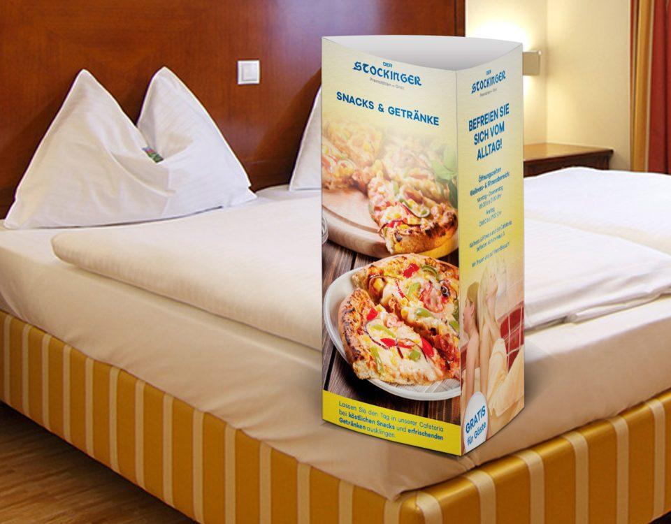 Hotel Stockinger Premstätten, Hotelzimmer mit den neuen Aufstellern