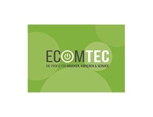 Logo Ecomtec - ihr Spezialist für Drucker, Kopierer und Service aus Bärnbach