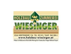 Logo Holzbau und Zimmerei Wiesinger aus Krottendor