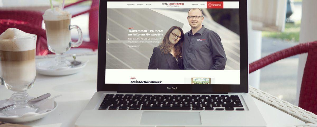 Strommer Installateuer Söding-St. Johann, Lipizzanerheimat, die neue Website
