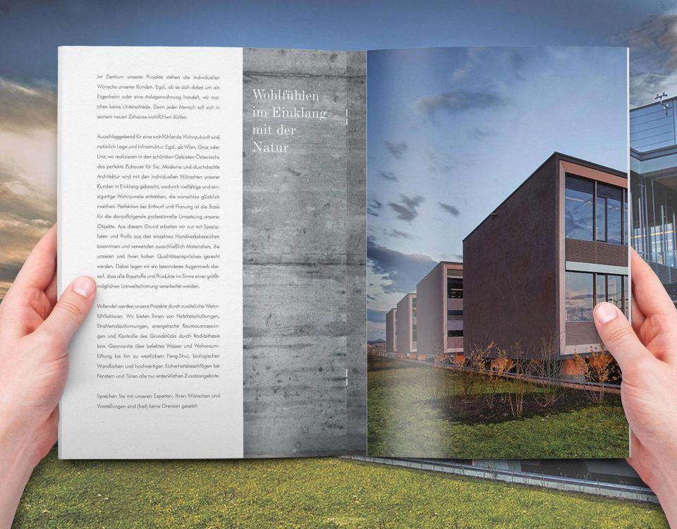 Imageprospekt für Roth Baumangement Graz, 20 Seiten