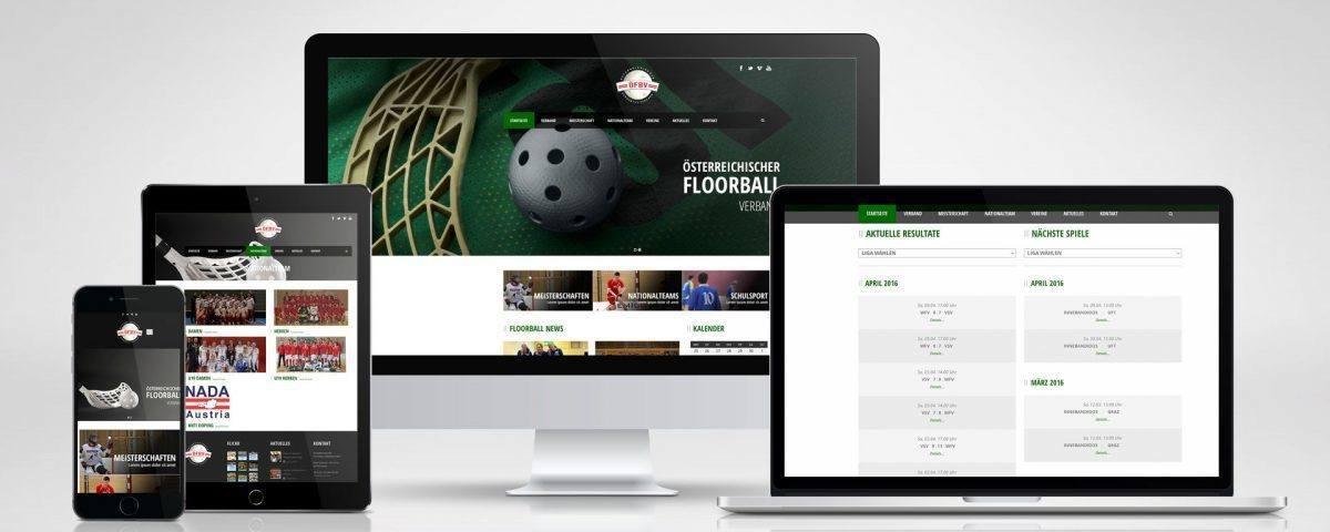Website Floorball Österreich