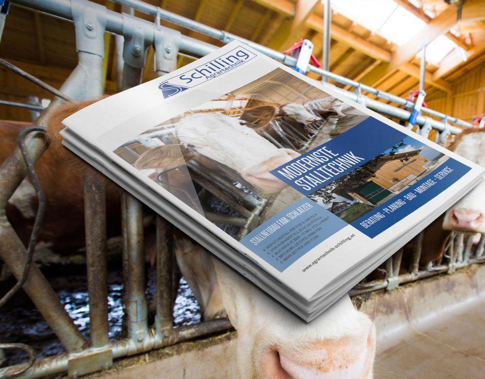 Referenzfolder für Agrartechnik Schilling aus Edelschrott, Bezirk Voitsberg