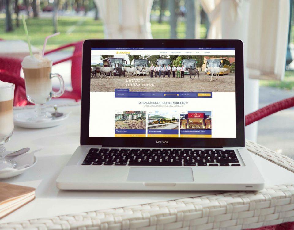 Die neue Website von Schlater Reisen aus Bärnbach, der Experte, wenn sie mit dem Bus verreisen wollen